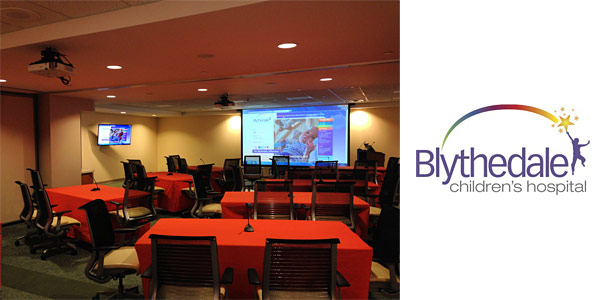 Audio Visual System Installation - Blythedale Children's Hospital